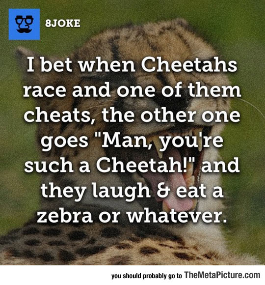 When Cheetahs Become Cheaters
