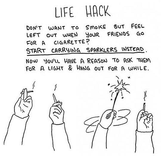 cool-spark-smoking-life-hack