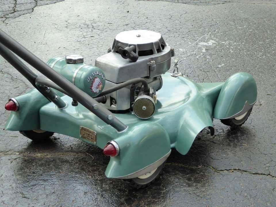 Custom lawn mower