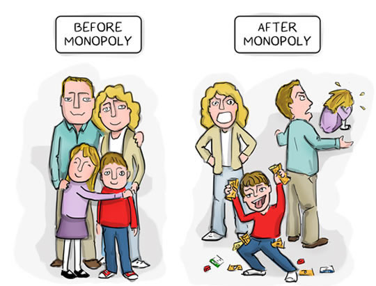 Every Family Before And After Monopoly