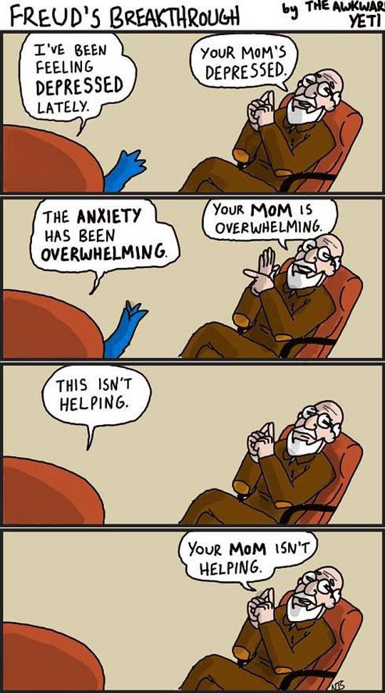 Freud Is Kind Of A Jerk
