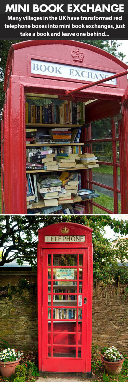 Mini Libraries In The UK