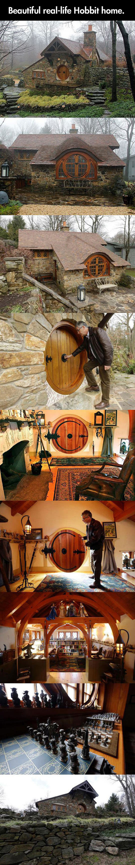 real life hobbit house