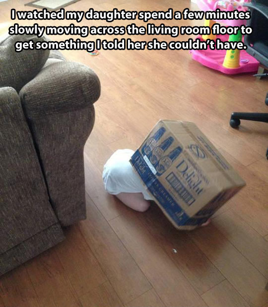 Sneaky Toddler