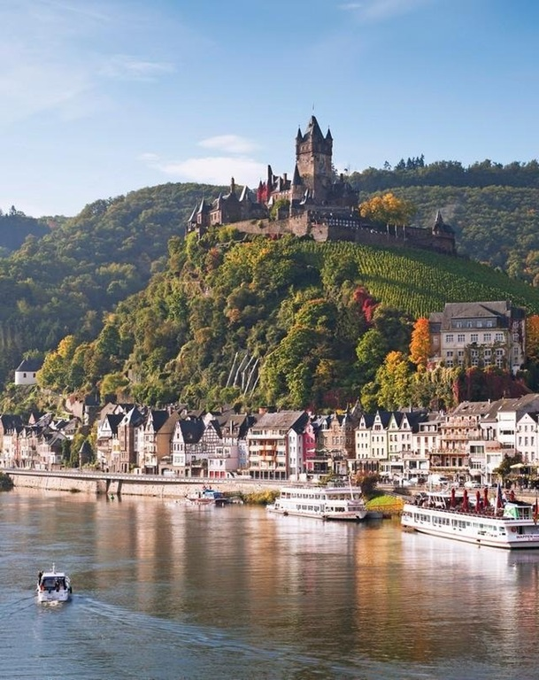 The underrated town of Cochem, Germany.