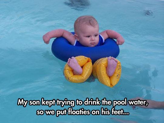 Tiny Feet Floaties