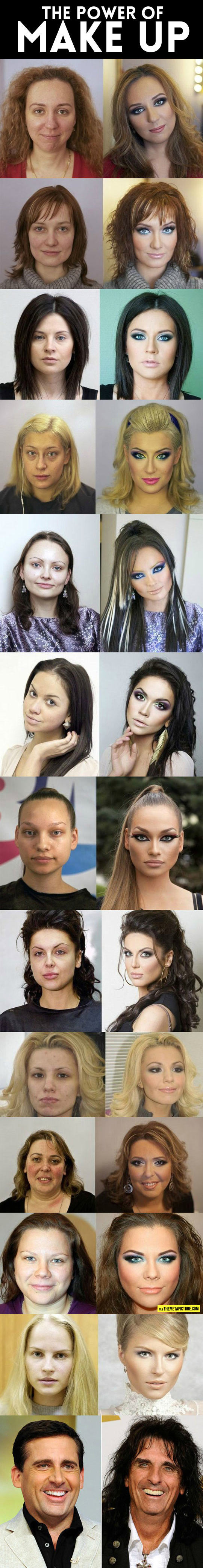 The Wonderful Power Of Makeup
