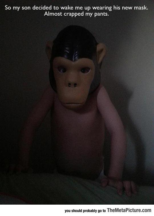 cool-monkey-mask-kid-prank