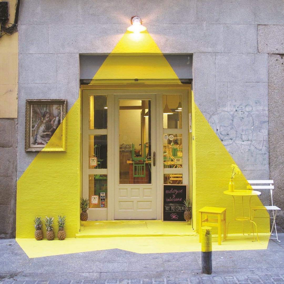 A restaurant in Madrid