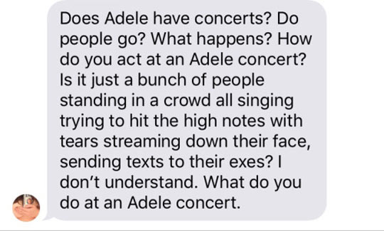 Adele Concerts