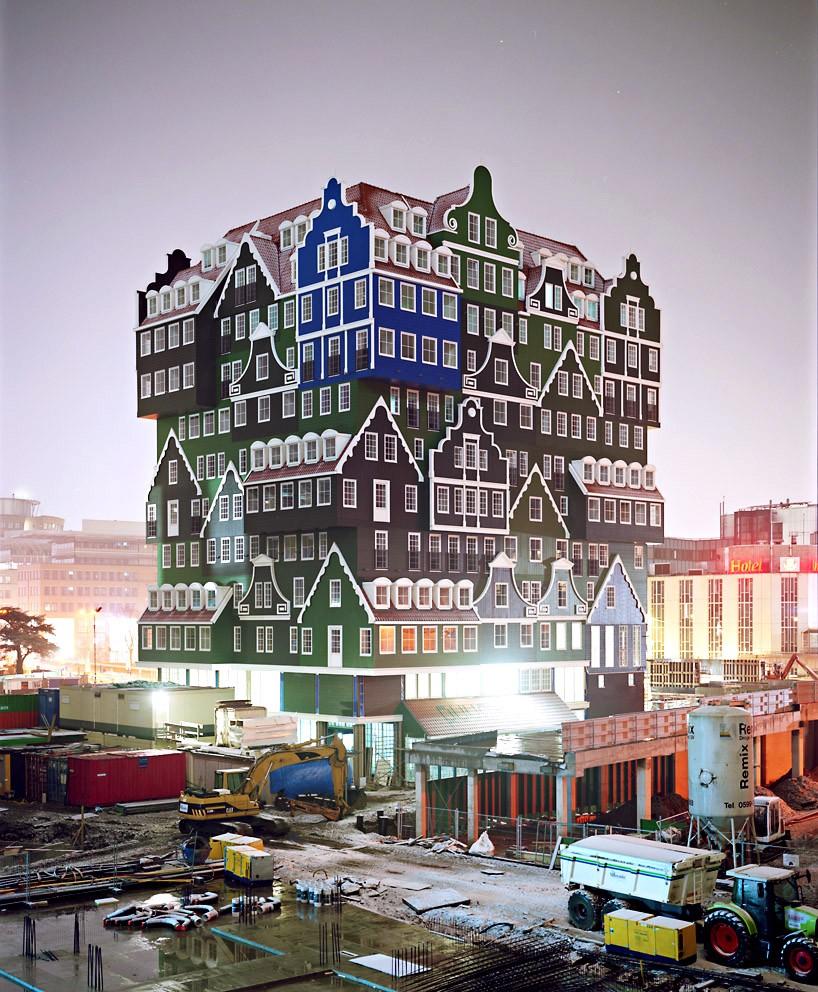 Building the Inntel Hotel in Amsterdam
