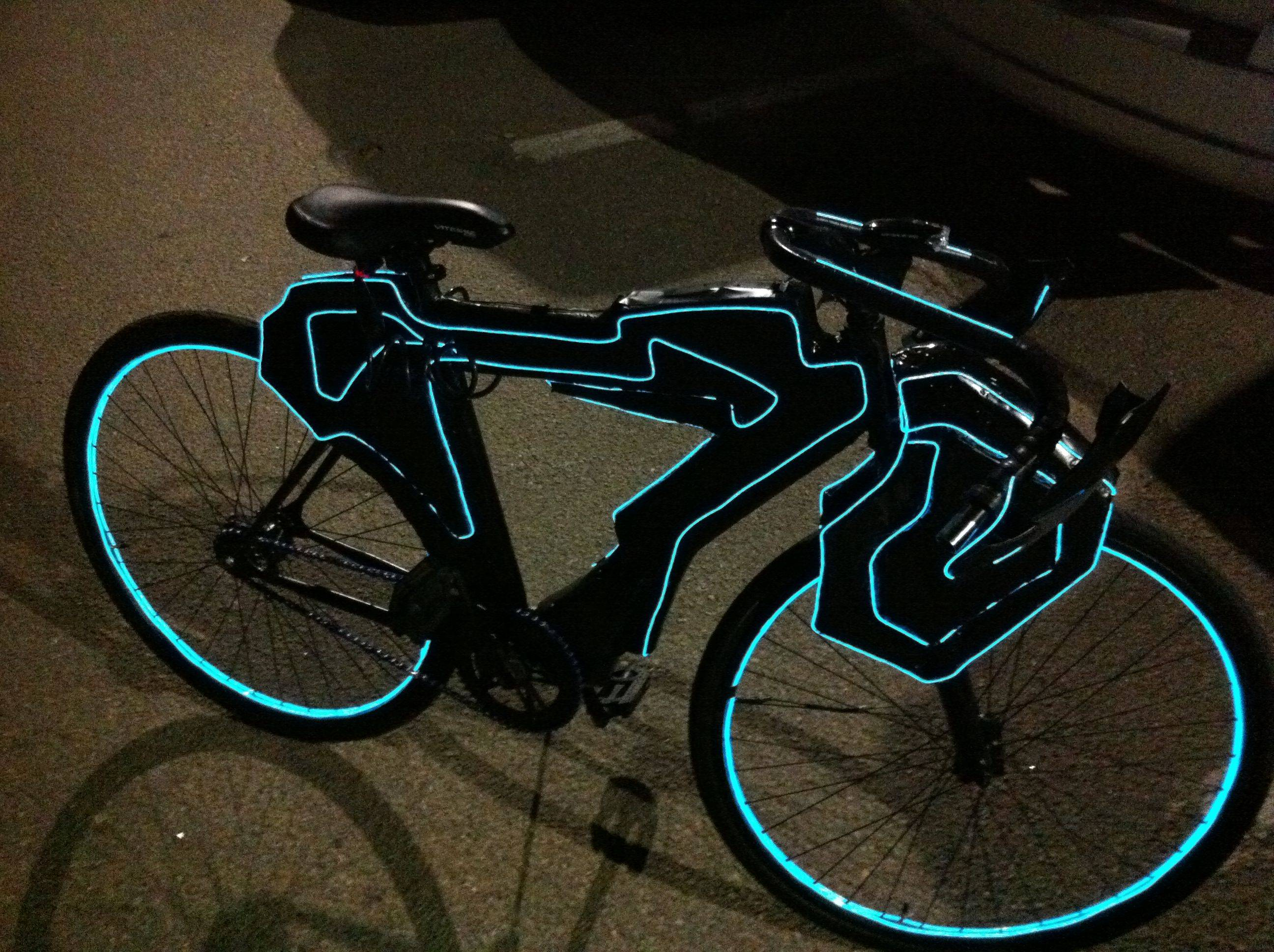Custom Tron Bike