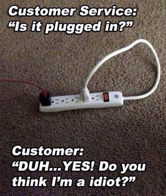 Customer Service Struggle