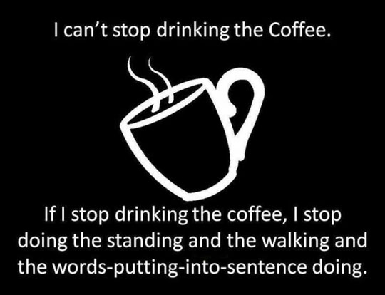 One Cup Of Coffee Please