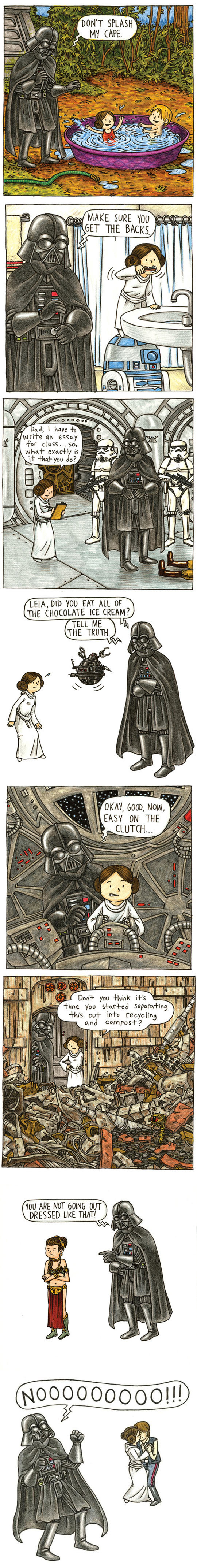 She Will Always Be Vader's Little Princess