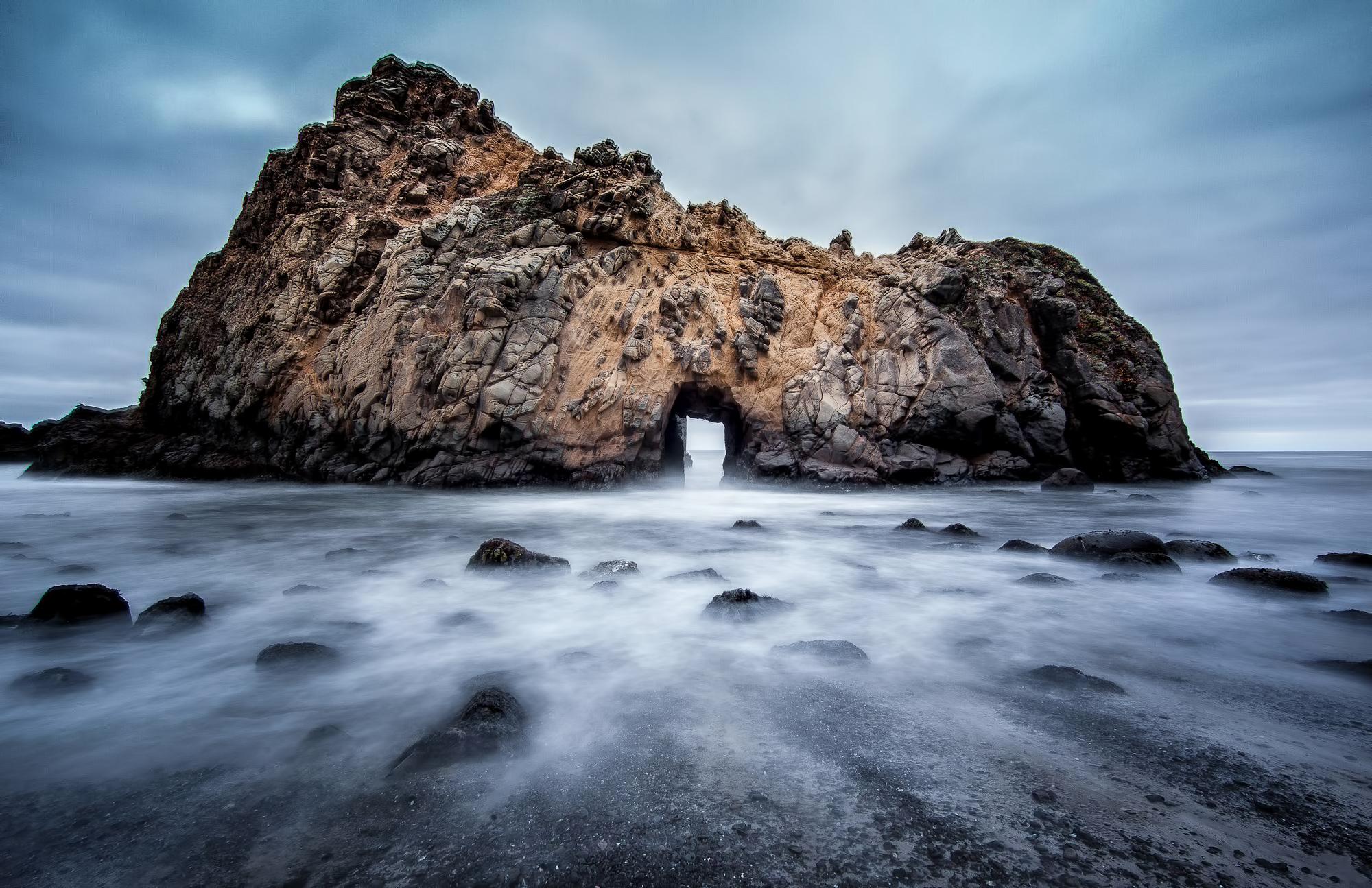 The Doorway, Big Sur, California