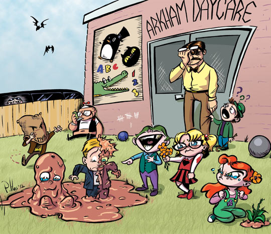 Another Day At Arkham Daycare