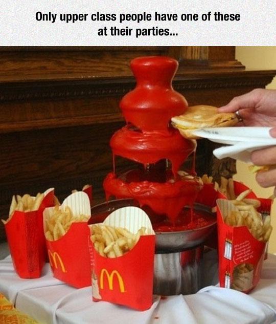 Classy McDonald's