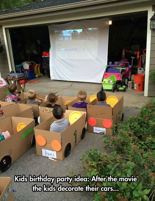 Drive-In Movie For Kids