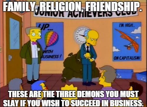 Inspirational Mr. Burns