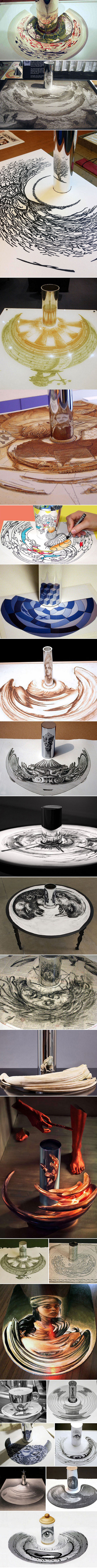Clever Anamorphic Artworks