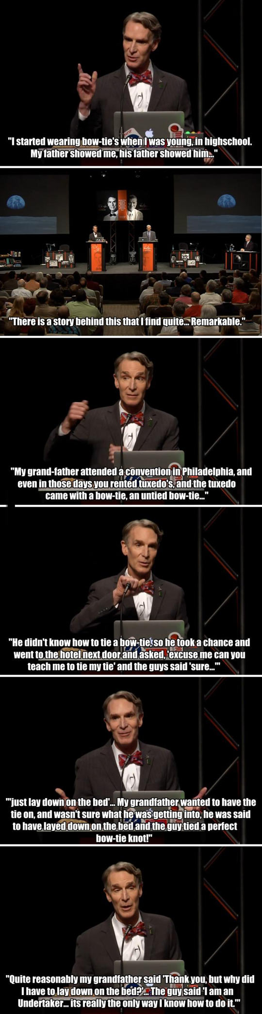The Funny Story Behind Bill Nye