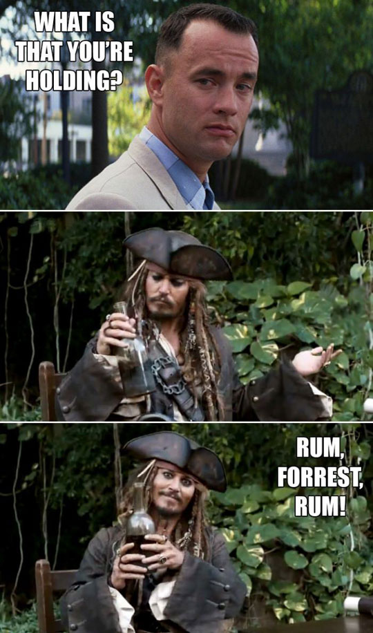 What Are You Holding Captain Sparrow?