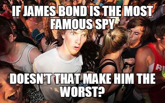 James Bond Contradiction