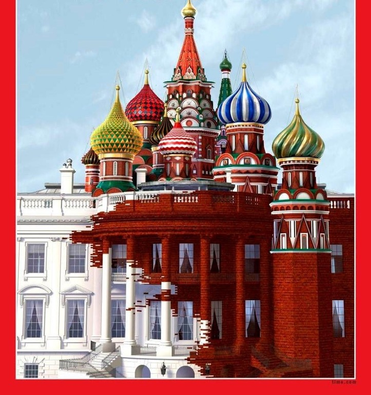 TIME Magazine's cover page