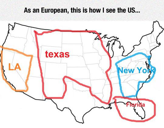 America According To Europeans