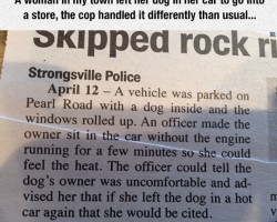 This Police Officer Is The Best