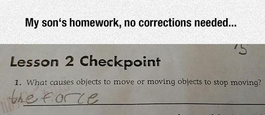 No Corrections Needed