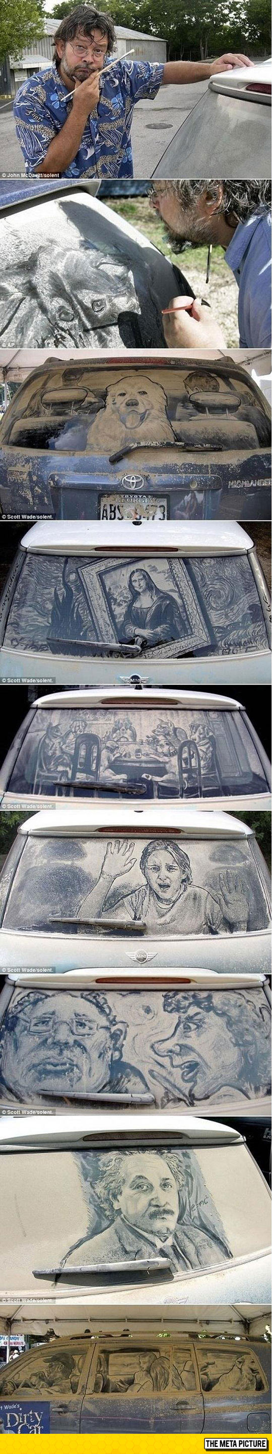 cool-art-dirty-car-windows