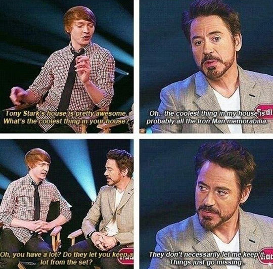 Iron Man Does Whatever He Wants