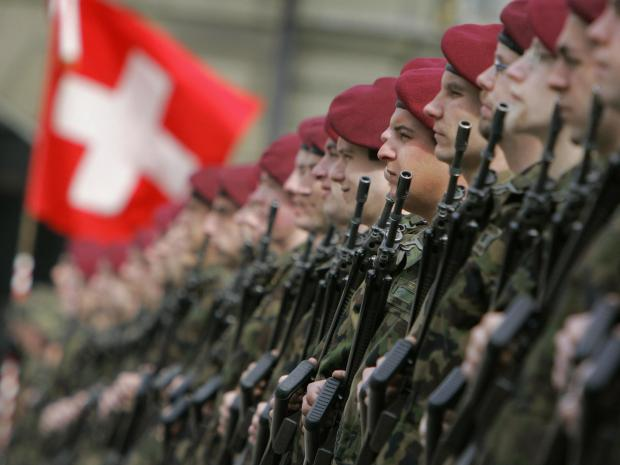Image result for switzerland army