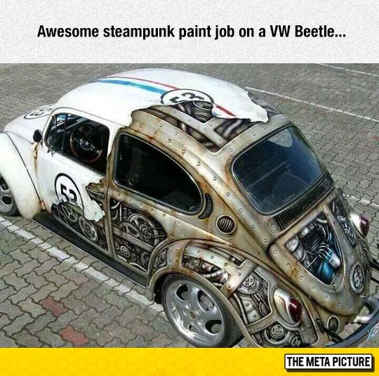 Steampunk Paint Job