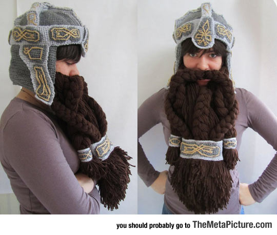 When Crafts Become Legendary: A Dwarven Helmet