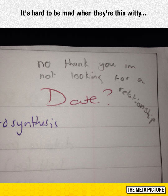 Witty Student
