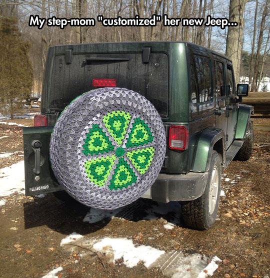 cute-crochet-hand-woven-tire-cover