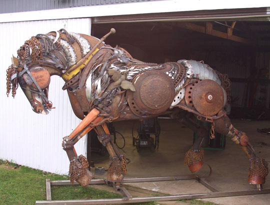 Epic Scrap Metal Stallion