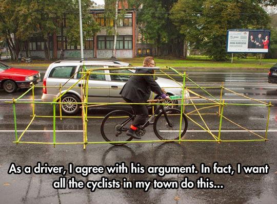 cool-argument-cyclist-street-structure-car