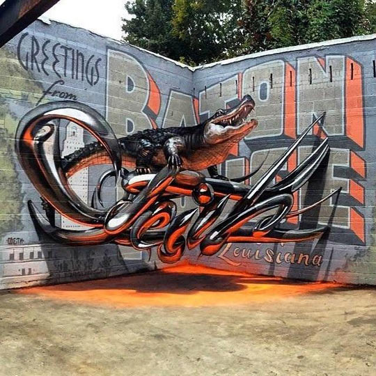 This Graffiti Is Mind-Blowing