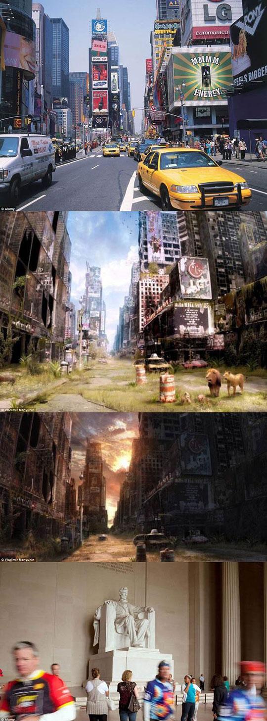 cool-post-apocalypse-world-New-York