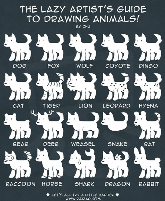 funny-guide-drawing-animals-lazy