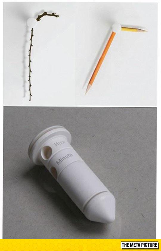 cool-creative-clock-pencils-branch