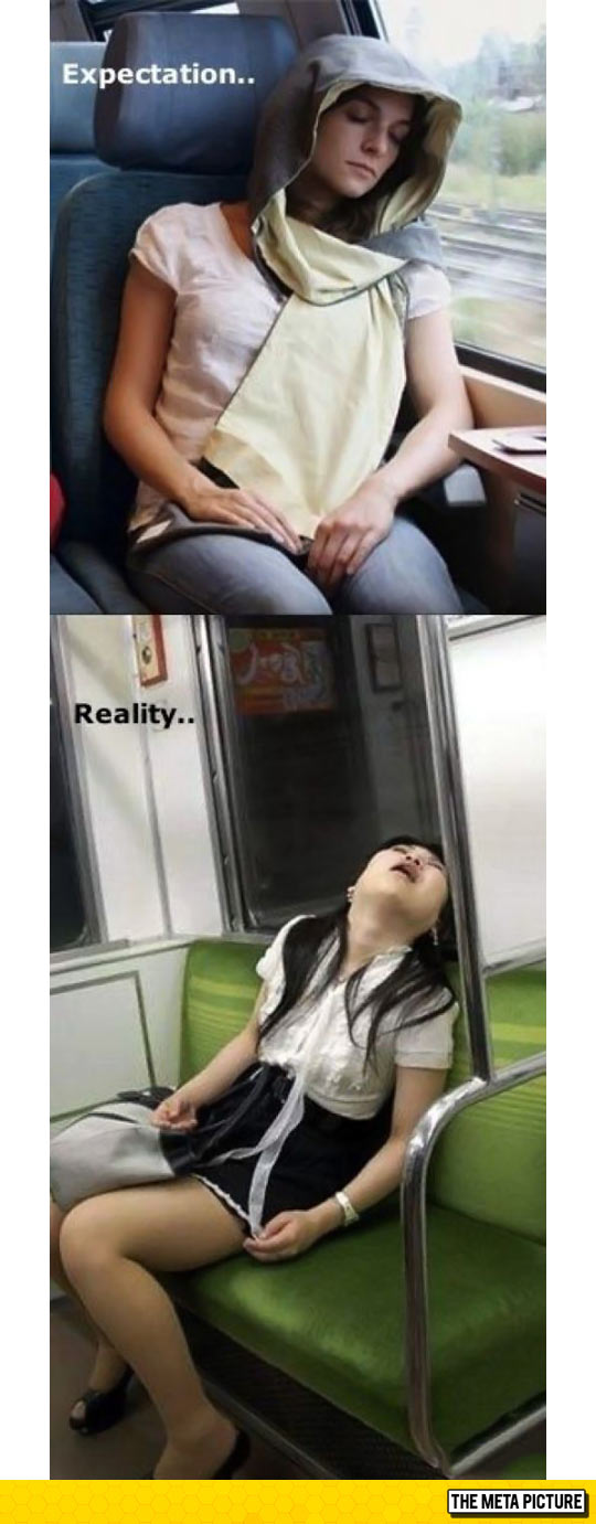 Falling Asleep While On The Bus
