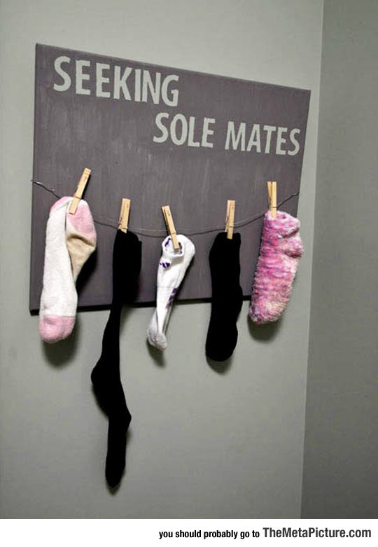 cool-lost-sign-socks-hanging-pegs