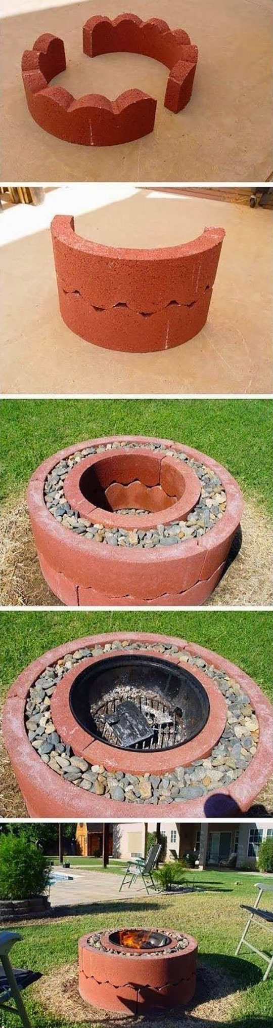 homemade-pit-fire-backyard