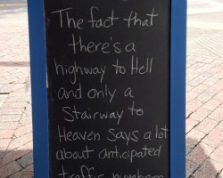 Highway To Hell Vs. Stairway To Heaven