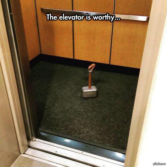 Worthy Of The Mjölnir